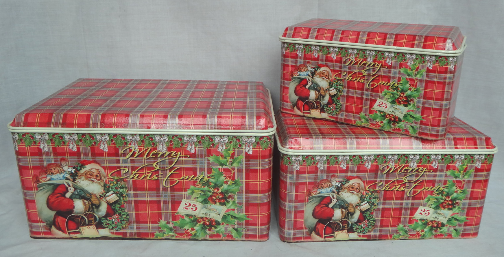 Christmas metal BOX
